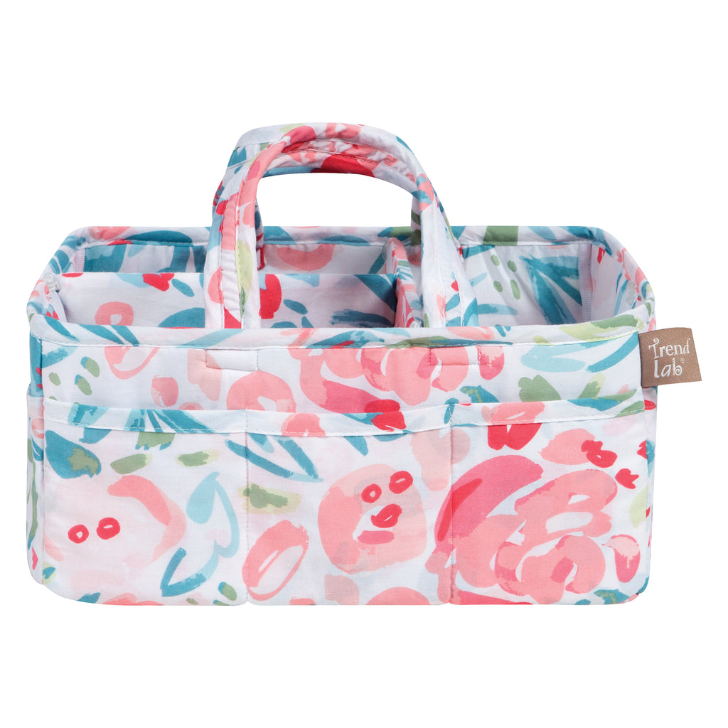 Painterly Floral Storage Caddy Trend Lab, LLC