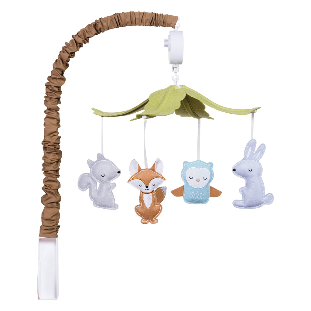 Woodland Musical Crib Mobile