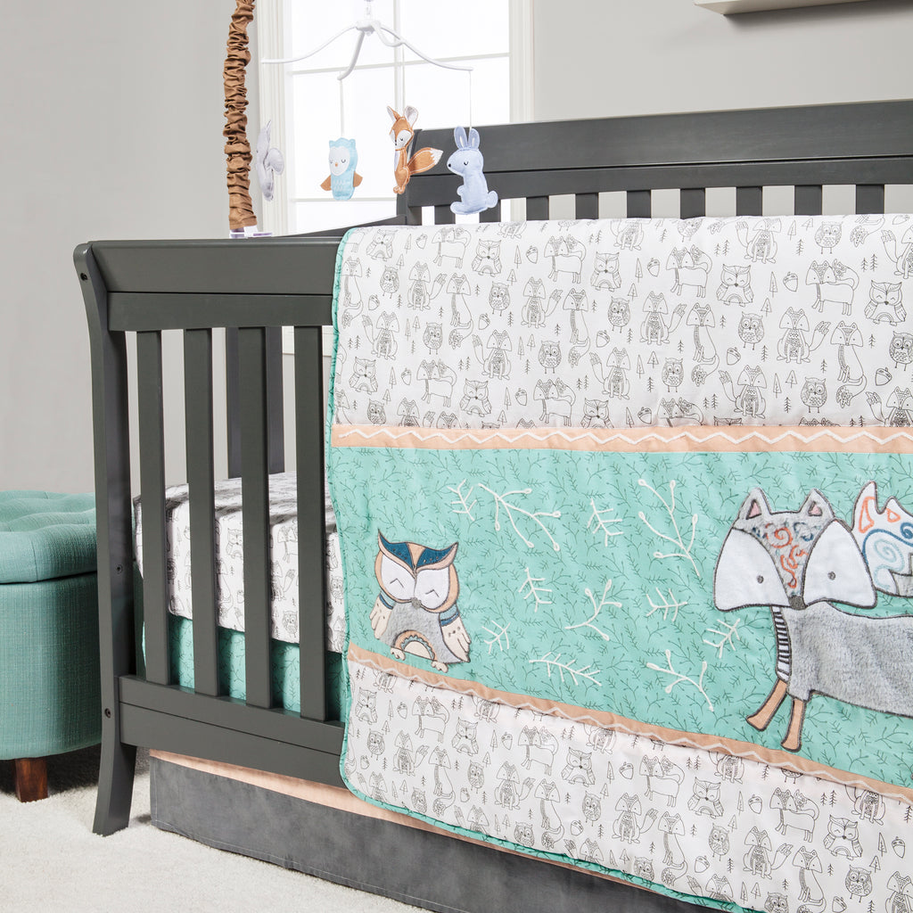 Sawyer 3 Piece Crib Bedding Set102443$99.99Trend Lab