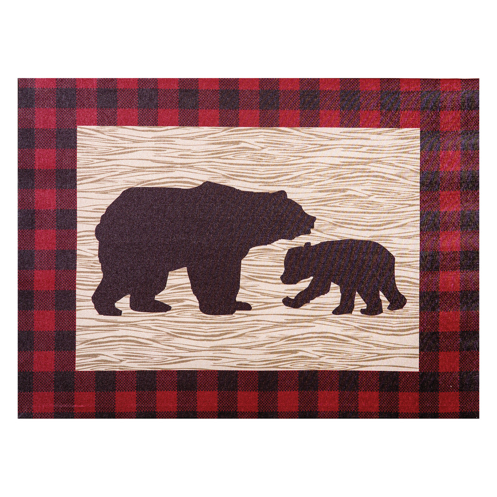 Northwoods Bear Canvas Wall Art Trend Lab, LLC