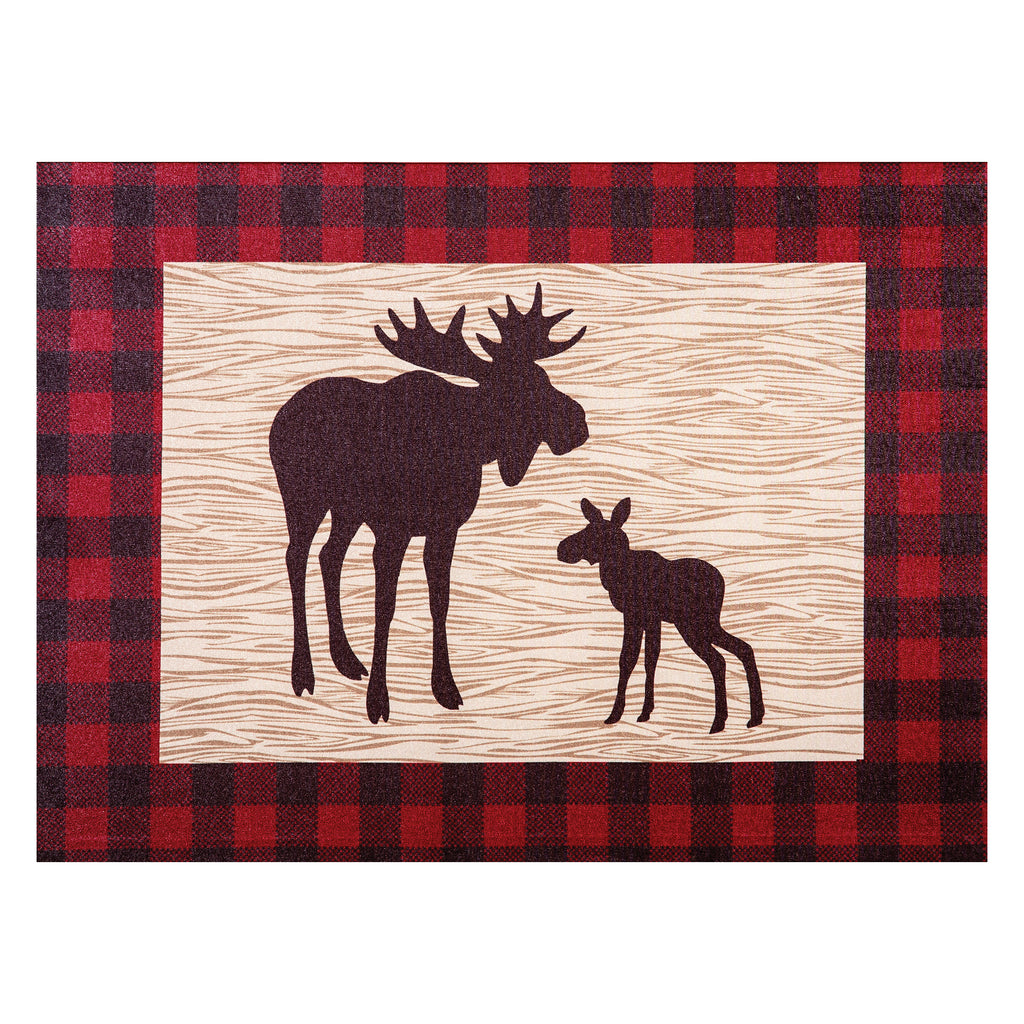 Northwoods Moose Canvas Wall Art Trend Lab, LLC