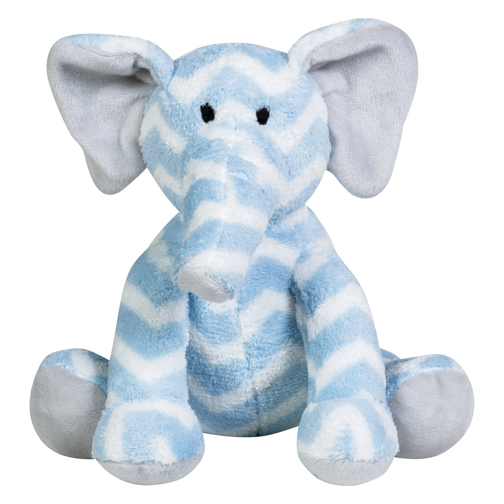 102664_BlueChevron-Elephant_Plush