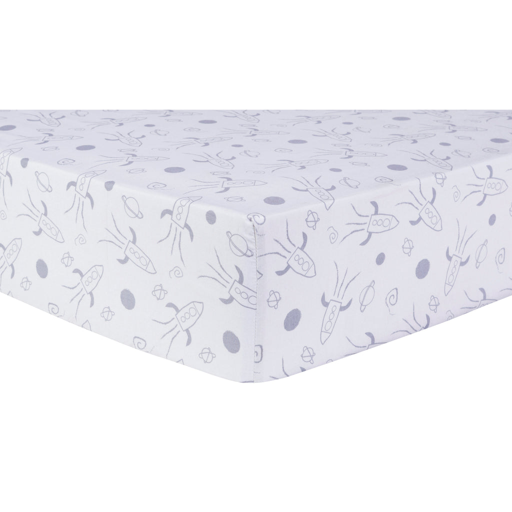 Galaxy Fitted Crib Sheet Trend Lab, LLC