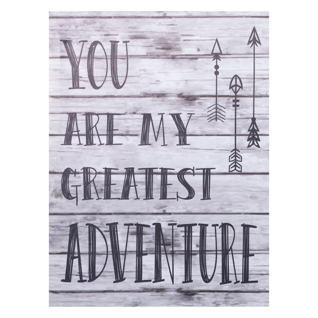 My Greatest Adventure Canvas Wall Art Trend Lab, LLC