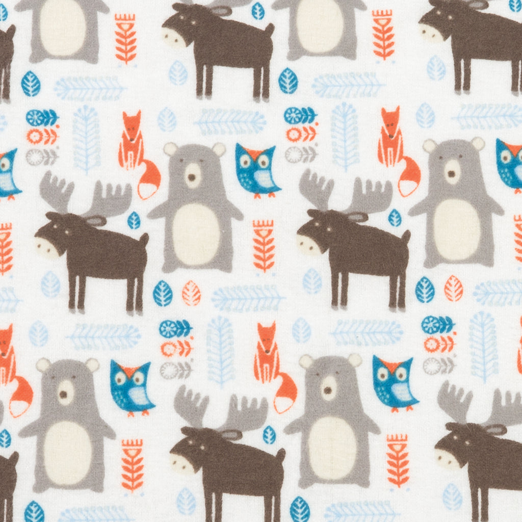 Scandi Forest Deluxe Flannel Fitted Crib Sheet102731$17.99Trend Lab