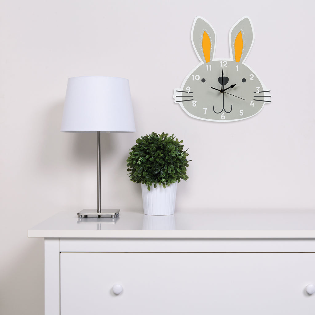 Bunny Wall Clock Trend Lab, LLC