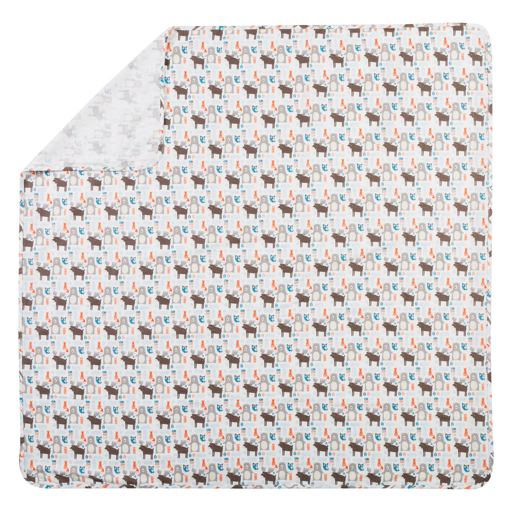 Scandi Forest Jumbo Deluxe Flannel Swaddle Blanket102814$12.99Trend Lab