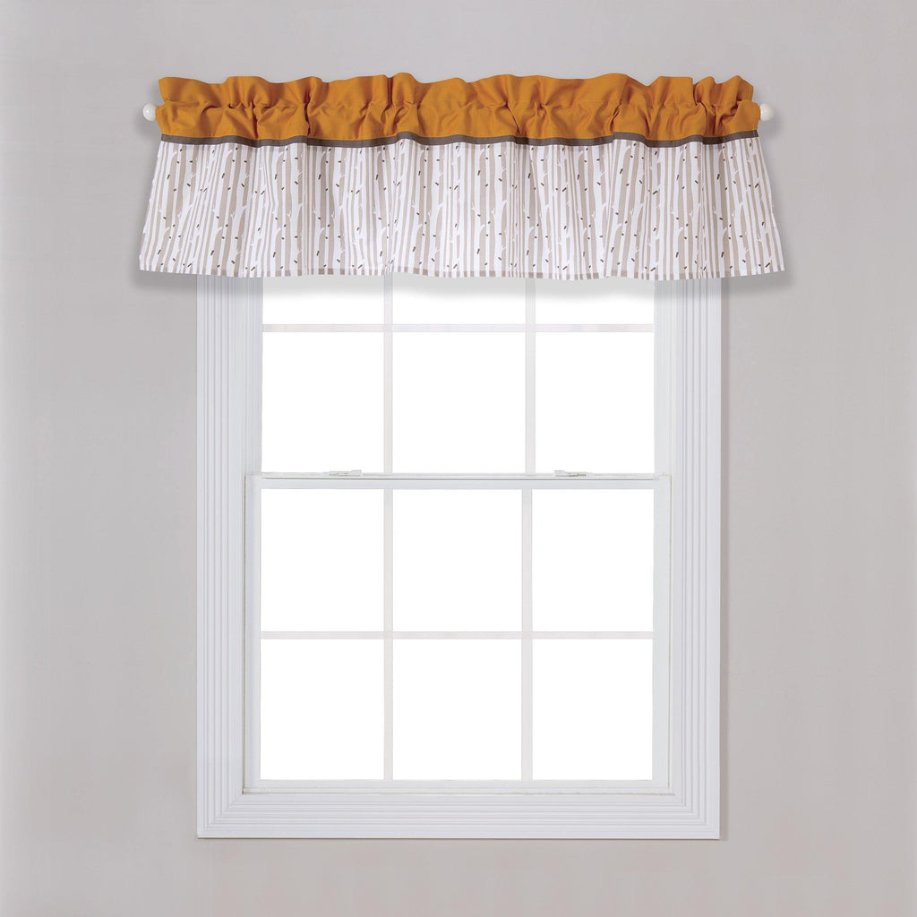 Birch Window Valance