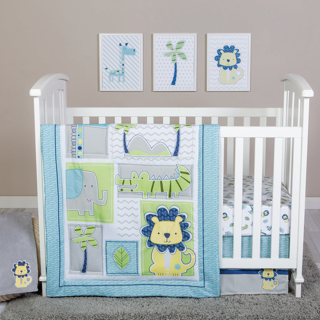Jungle Roar 4 Piece Crib Bedding Set102833$69.99Trend Lab