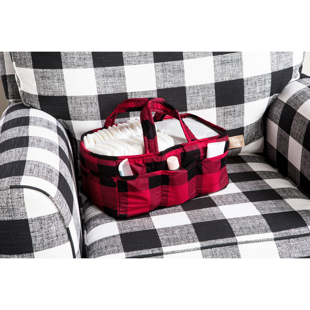Red and Black Buffalo Check Storage Caddy102843$24.99Trend Lab