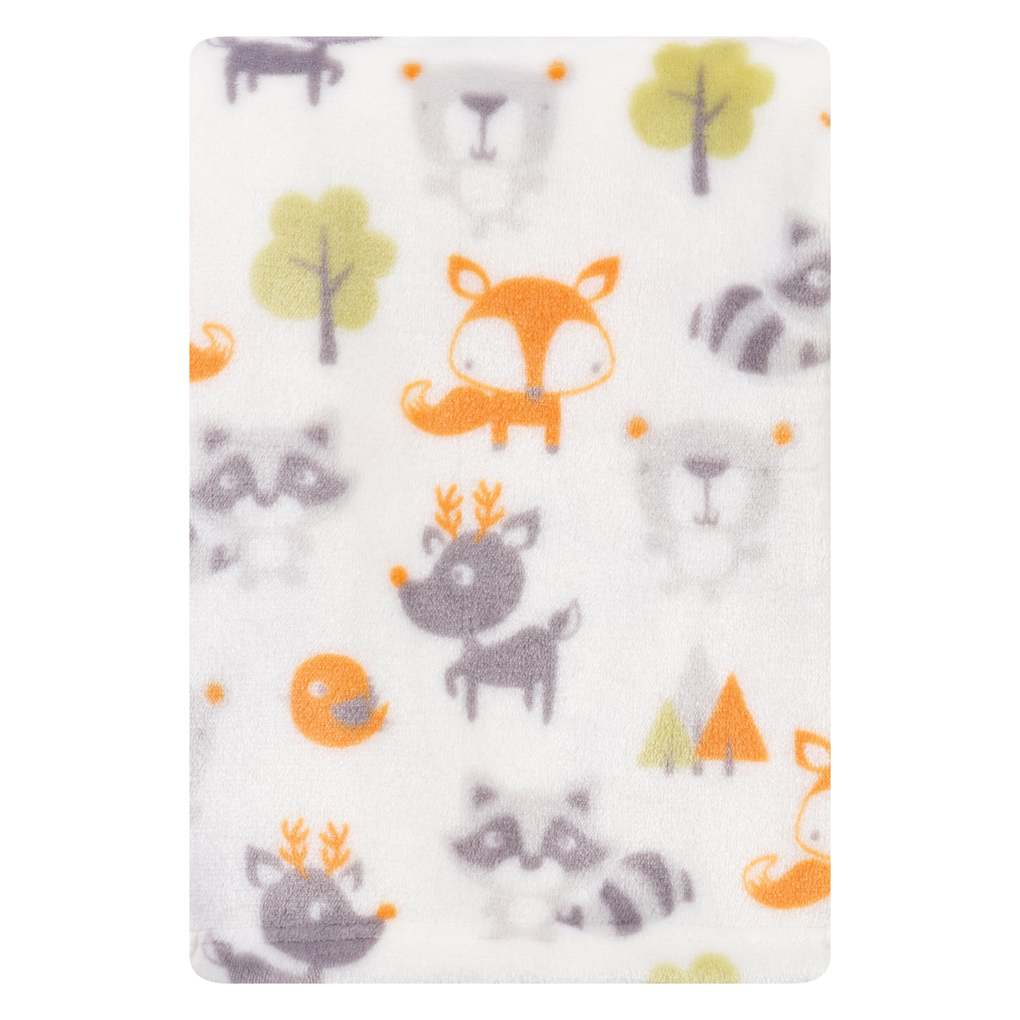 Forest Pals Plush Baby Blanket Bedding And Accessories