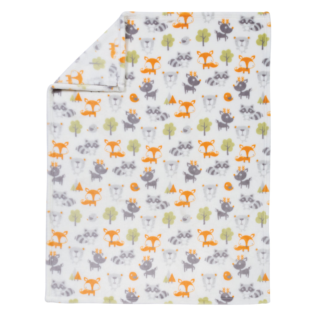 Forest Pals Plush Baby Blanket102876$17.99Trend Lab