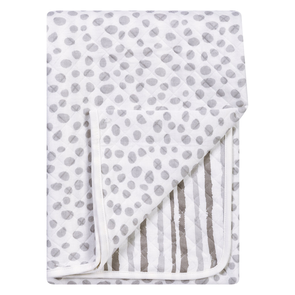 Gray Cloud Knit Blanket Trend Lab, LLC