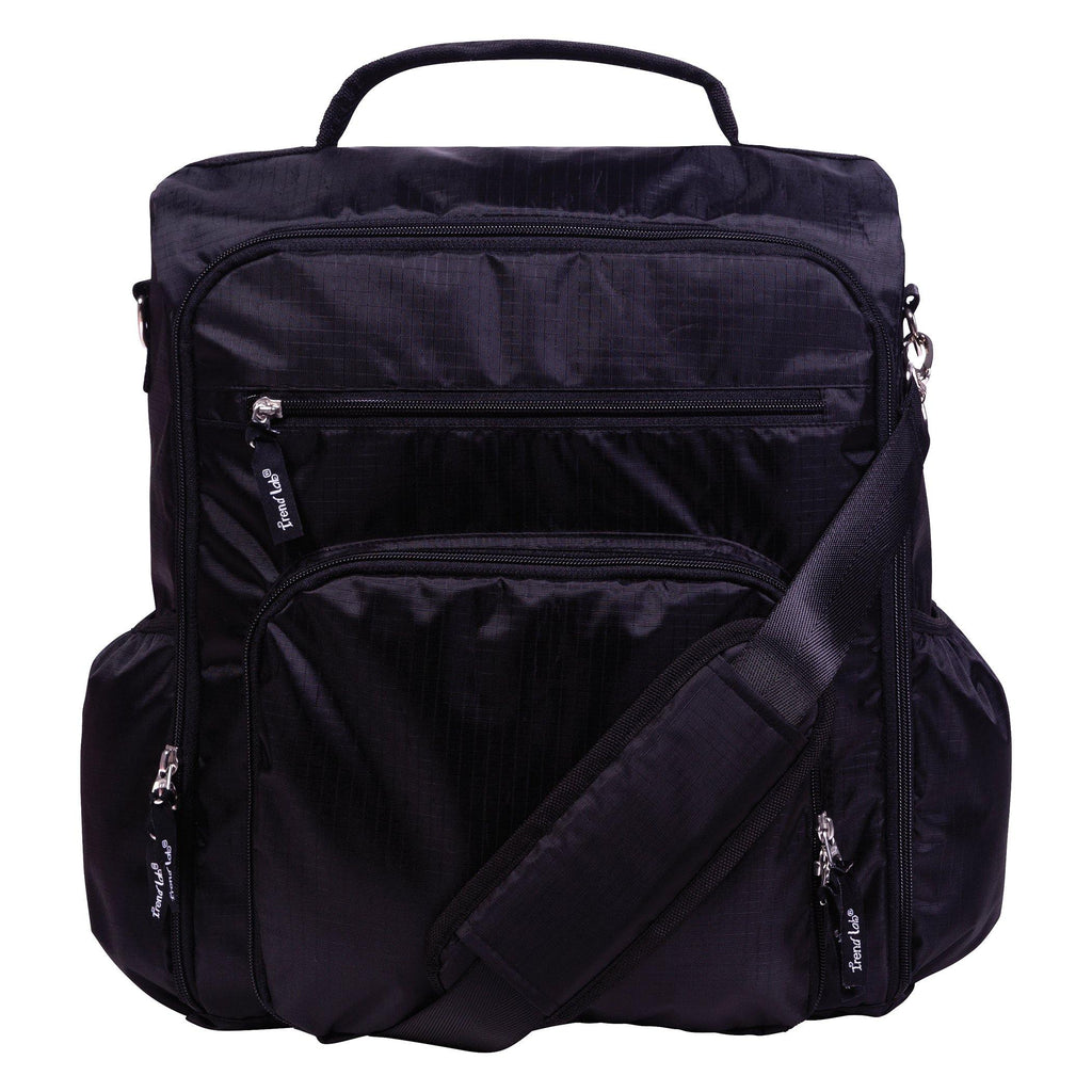 Black Convertible Backpack Diaper Bag Trend Lab, LLC