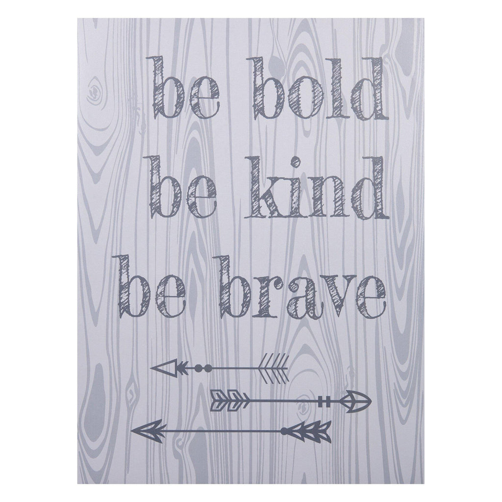 Be Bold, Be Kind, Be Brave Canvas Wall Art Trend Lab, LLC