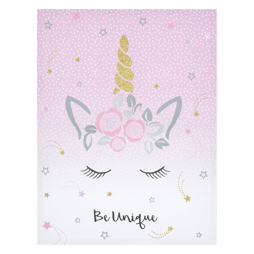 Mystical Dreams Unicorn Canvas Wall Art Trend Lab, LLC