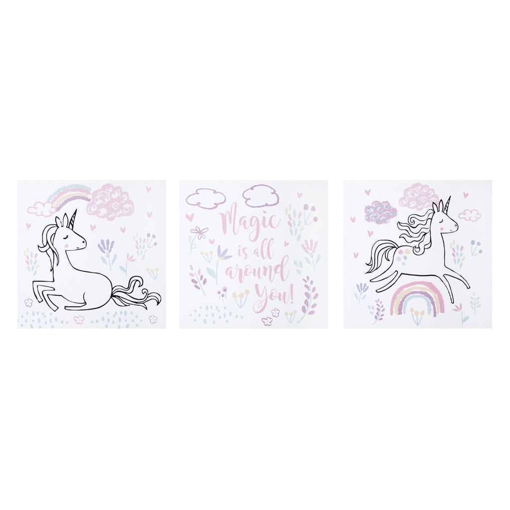 Magical Unicorn Canvas Wall Art 3 Pack102989$21.99Trend Lab