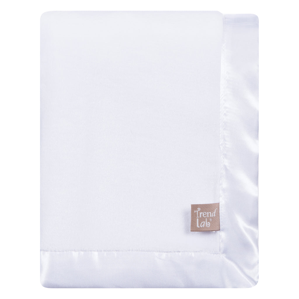White Plush Baby Blanket Trend Lab, LLC