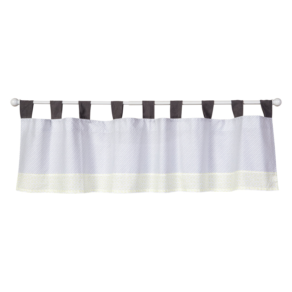 Farm Stack Window Valance Trend Lab, LLC
