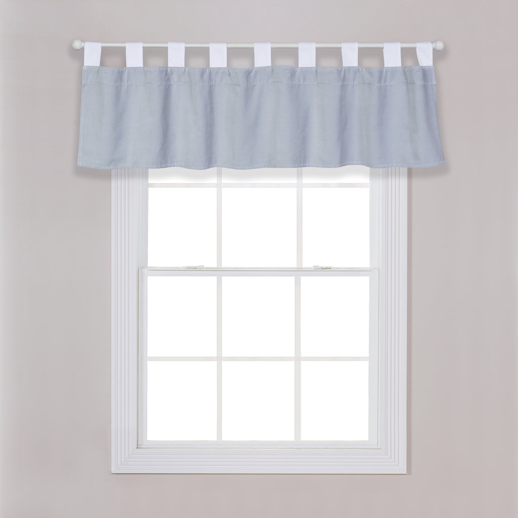 Gray Washed Velvet Window Valance103048$9.99Trend Lab