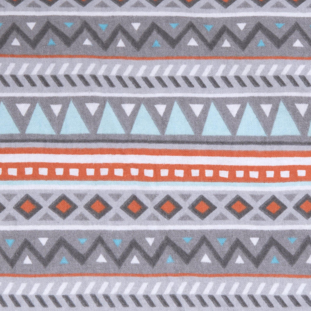 Aztec Deluxe Flannel Fitted Crib Sheet Trend Lab, LLC