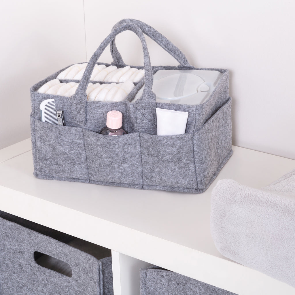 Light Gray Felt Storage Caddy Trend Lab, LLC
