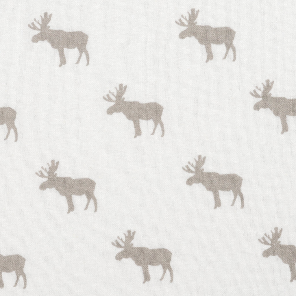 Gray Moose Silhouettes Deluxe Flannel Fitted Crib Sheet103166$17.99Trend Lab