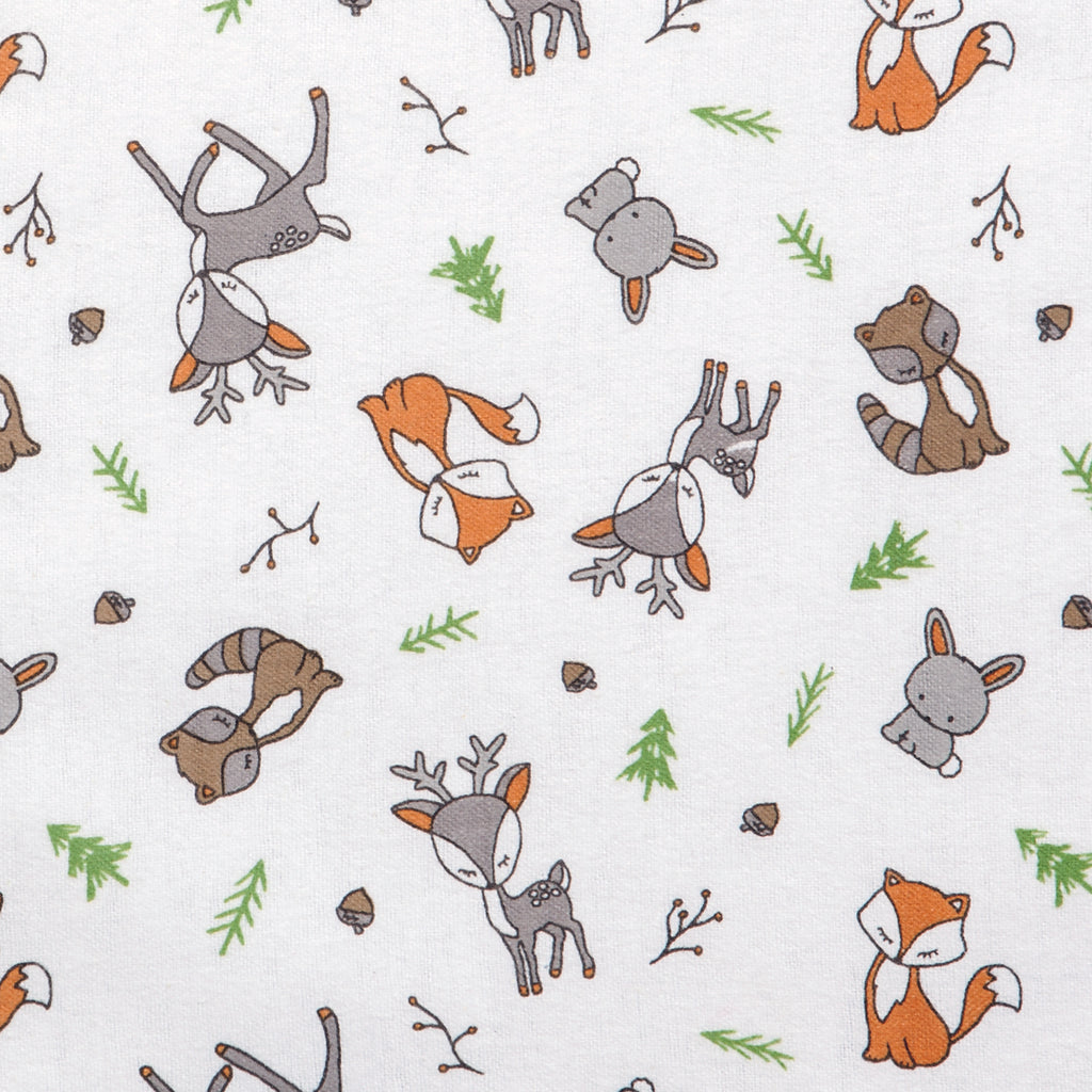 Forest Nap Deluxe Flannel Fitted Crib Sheet103170$17.99Trend Lab