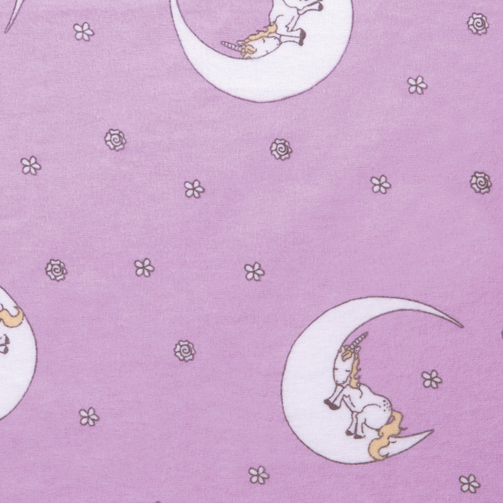 Unicorn Moon Deluxe Flannel Fitted Crib Sheet Trend Lab, LLC