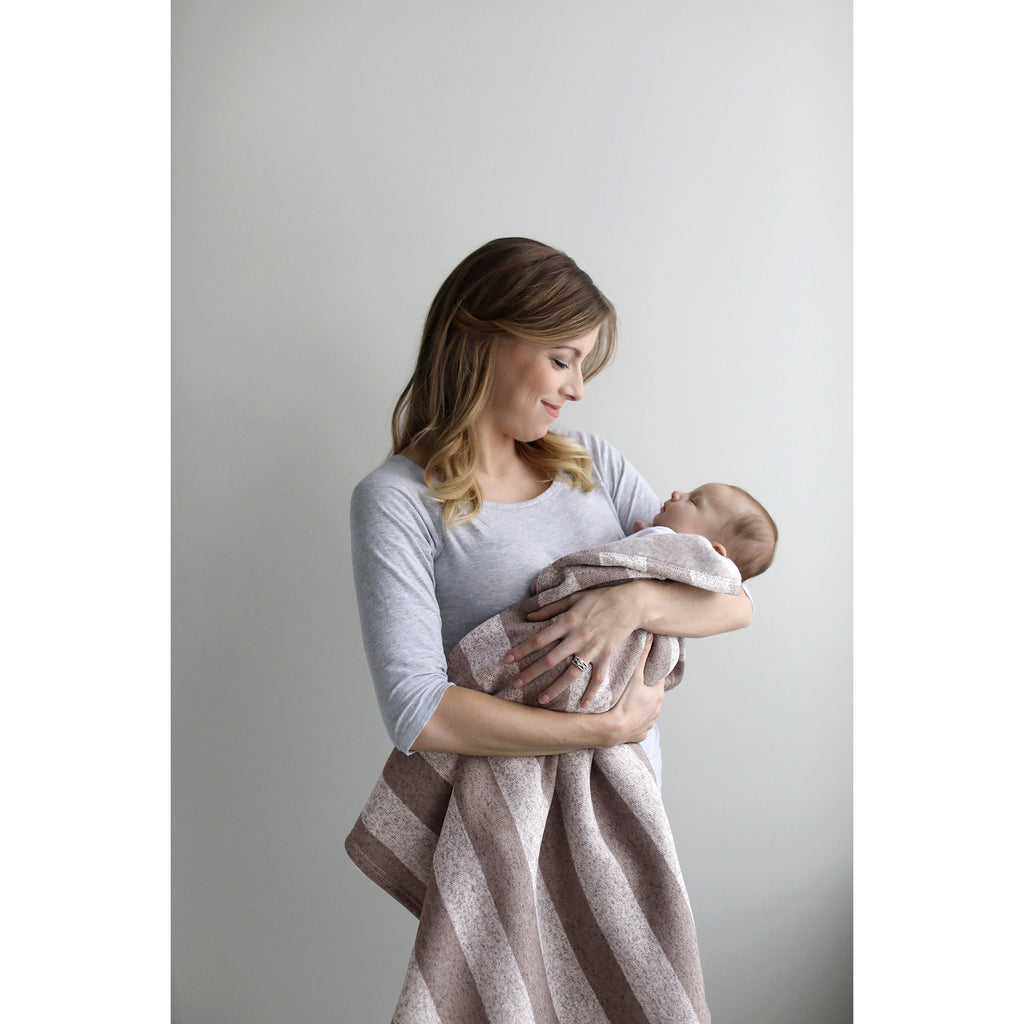 Rugby Stripe Sweatshirt Knit Baby Blanket103186$19.99Trend Lab