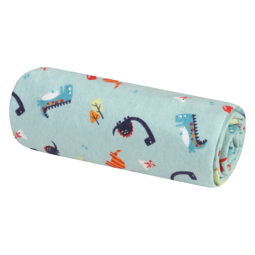 Dinosaurs Jumbo Deluxe Flannel Swaddle Blanket103223$12.99Trend Lab