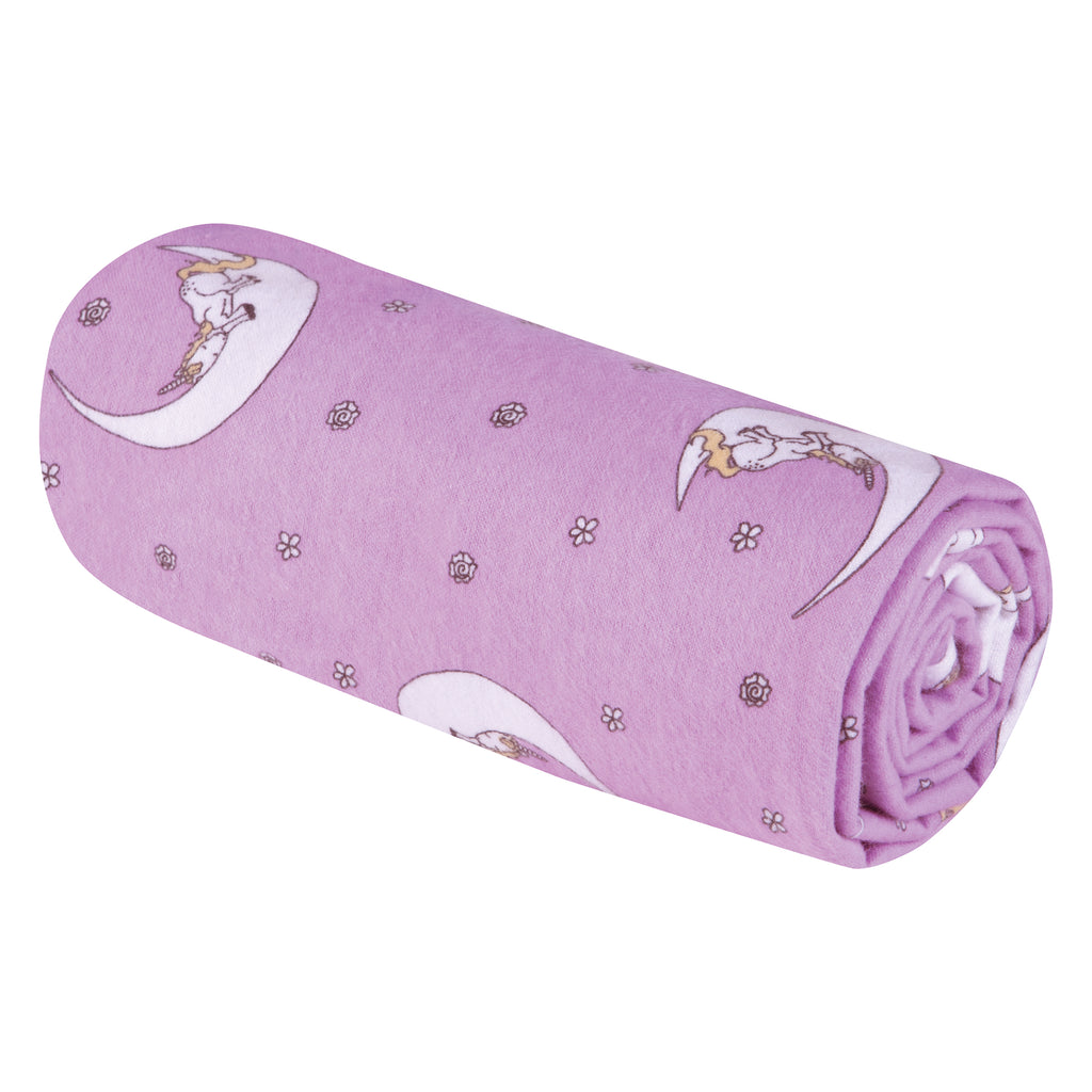 Unicorn Moon Jumbo Deluxe Flannel Swaddle Blanket Trend Lab, LLC