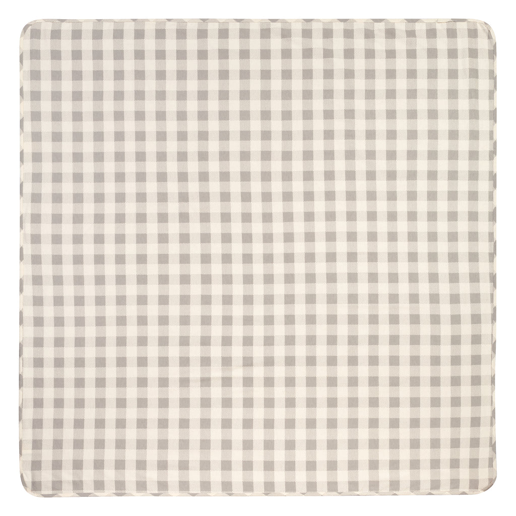 Gray and Cream Buffalo Check Jumbo Deluxe Flannel Swaddle Blanket103232$12.99Trend Lab