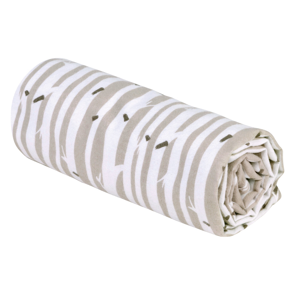 Birch Stripe Deluxe Flannel Swaddle Blanket103279$12.99Trend Lab