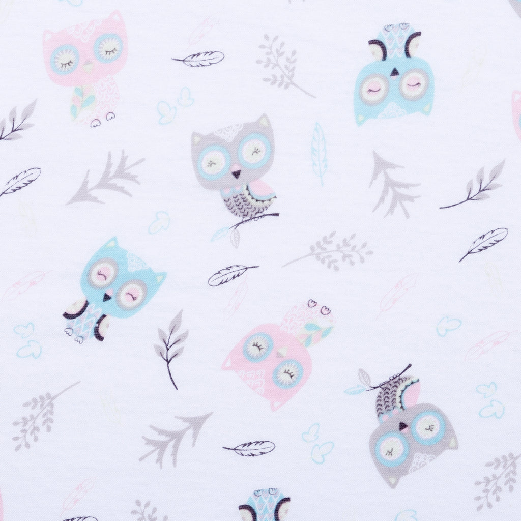 Feathered Friends Jersey Fitted Crib Sheet103312$17.99Trend Lab