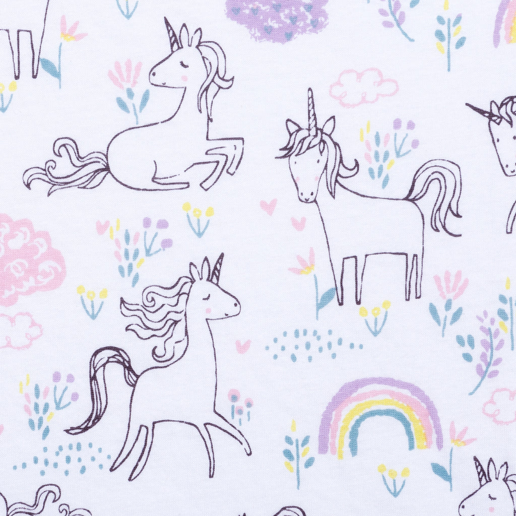 Playful Unicorns Jersey Fitted Crib Sheet103314$17.99Trend Lab