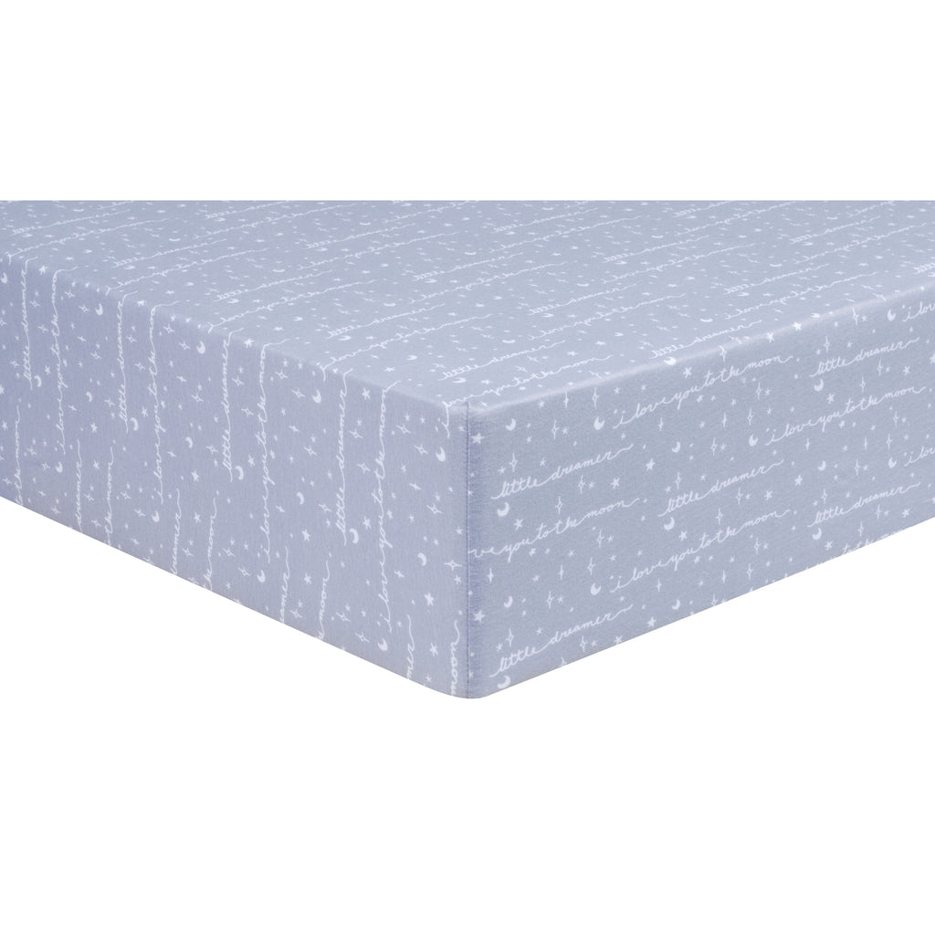 Little Dreamer Jersey Fitted Crib Sheet103325$17.99Trend Lab