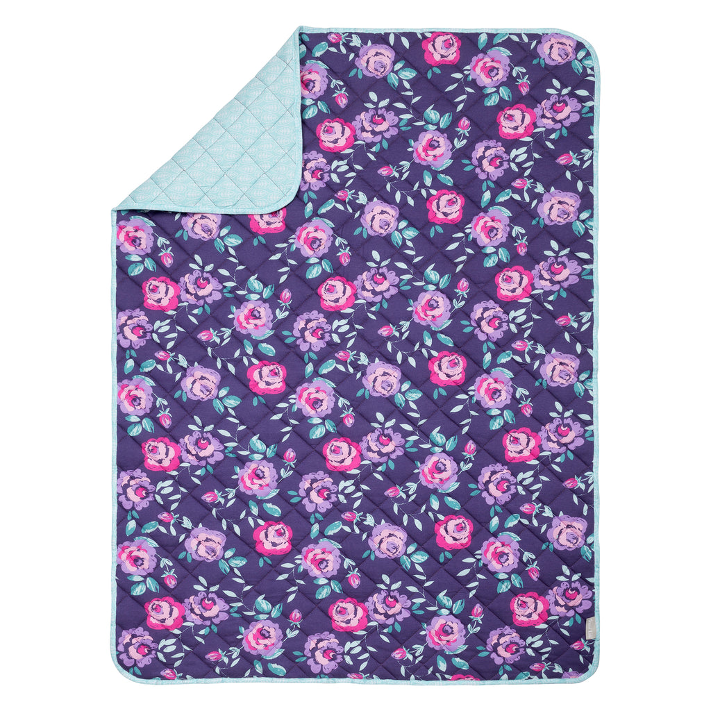 Flora Reversible Jersey Crib Quilt Trend Lab, LLC