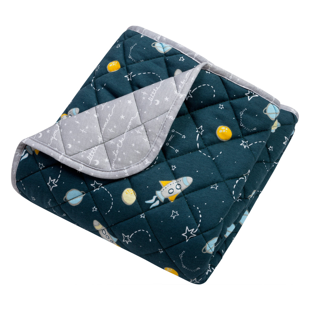 Rockets Reversible Jersey Crib Quilt103351$21.99Trend Lab