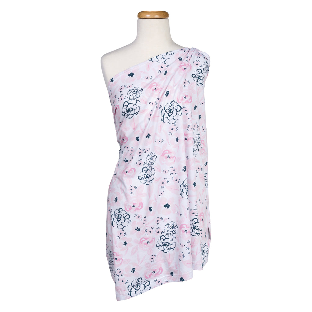Watercolor Floral Multi-Use Nursing Wrap