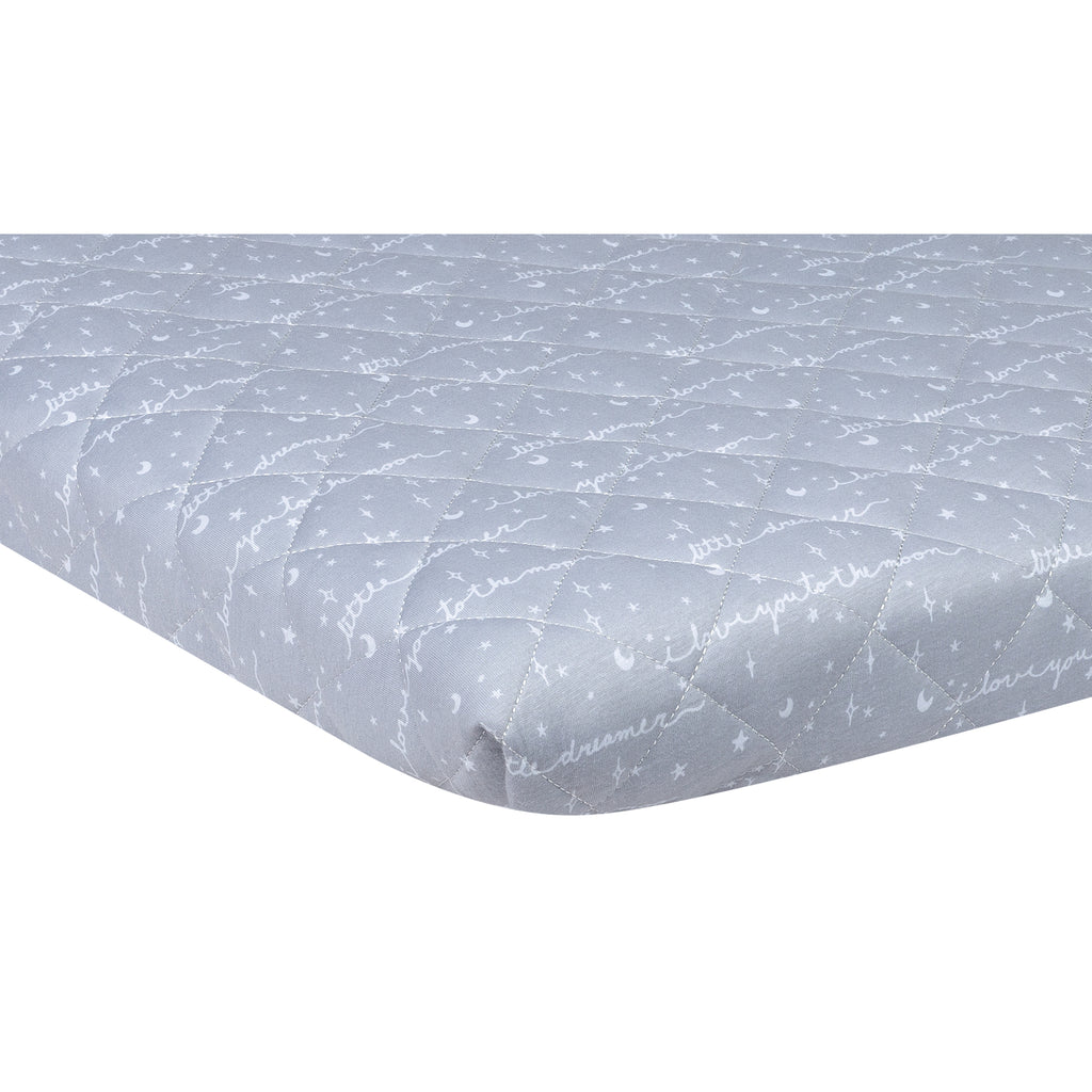 Little Dreamer Quilted Jersey Playard Sheet103389$17.99Trend Lab