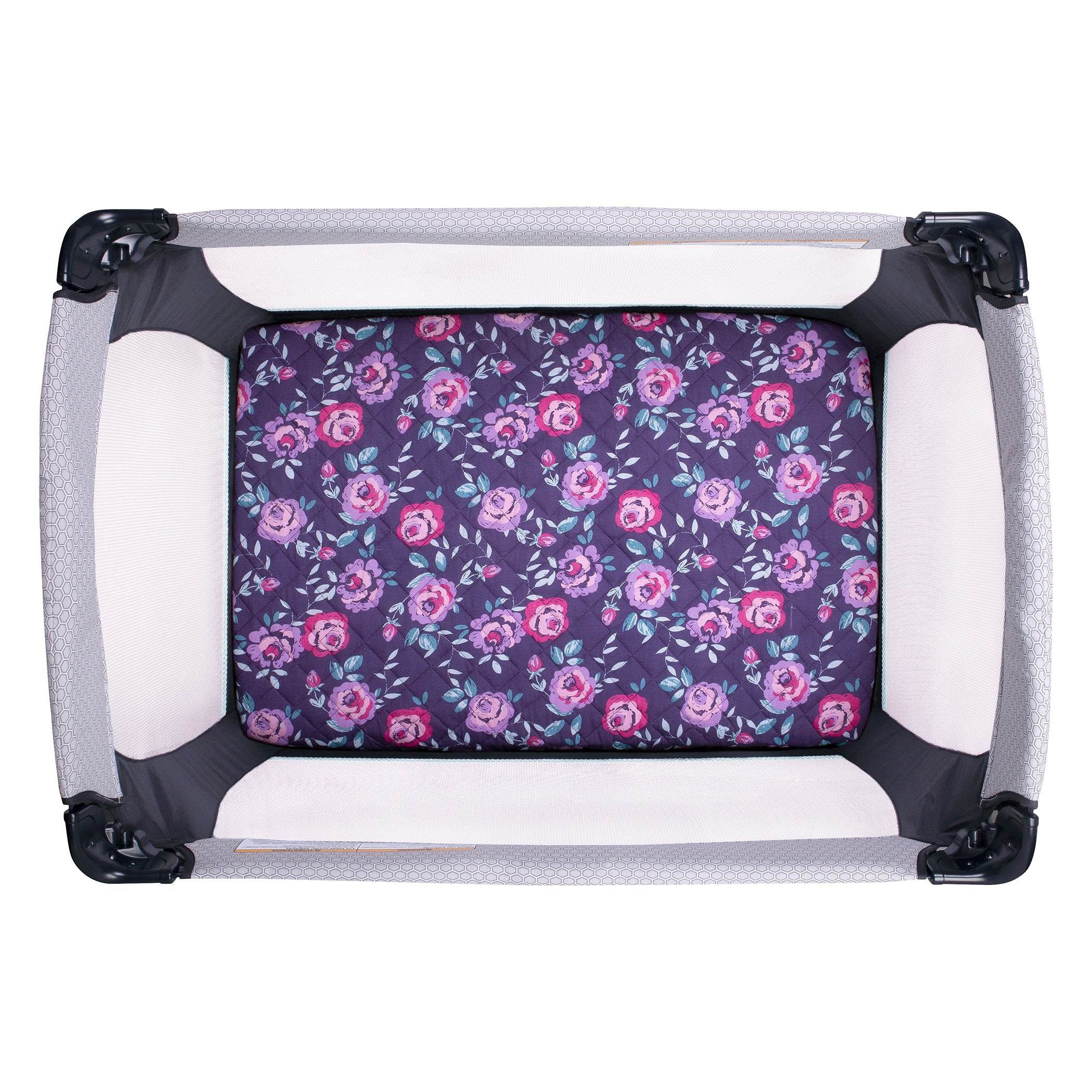 Trend Lab Quilted Jersey Baby Blanket Flora