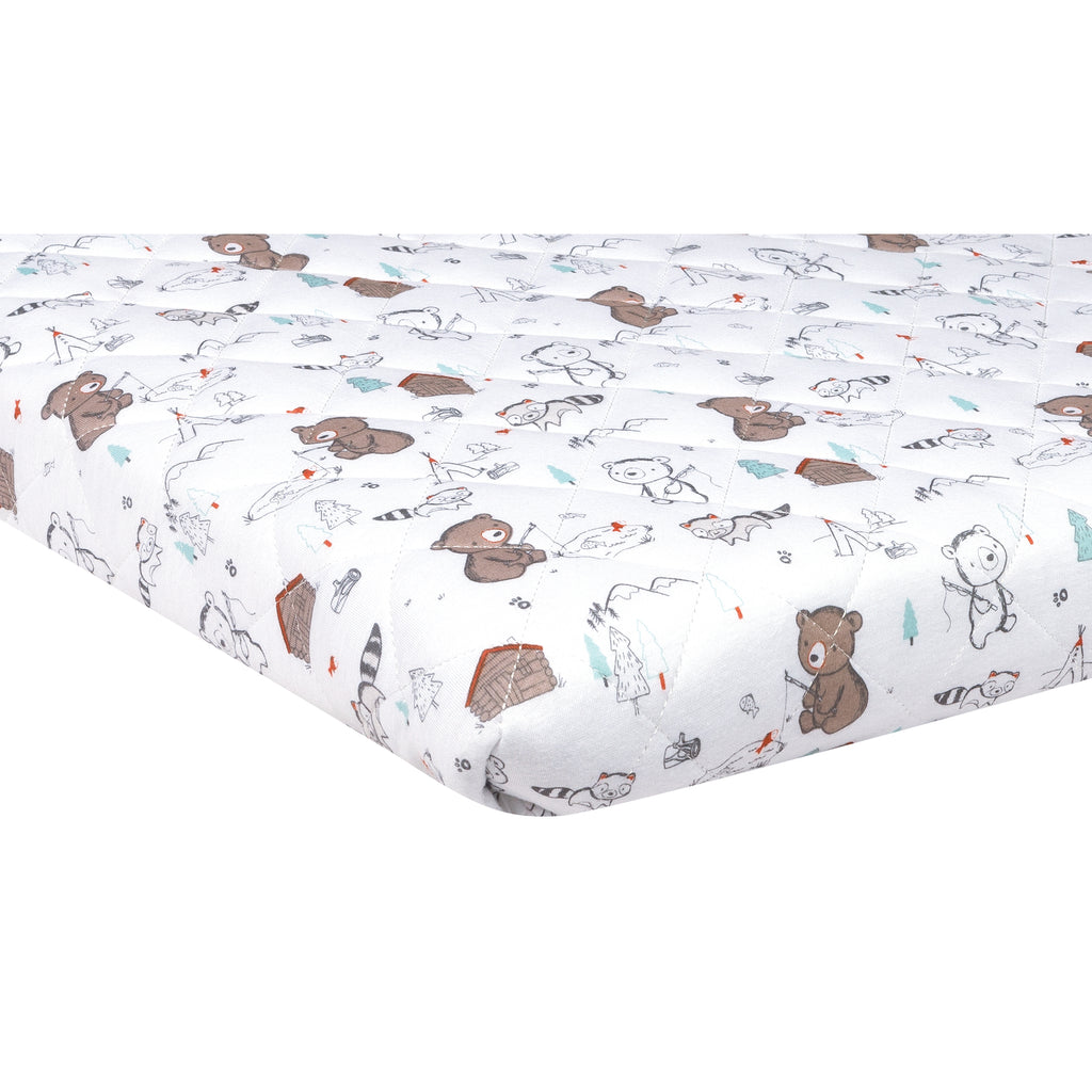Fishing Bears Quilted Jersey Playard Sheet103392$17.99Trend Lab