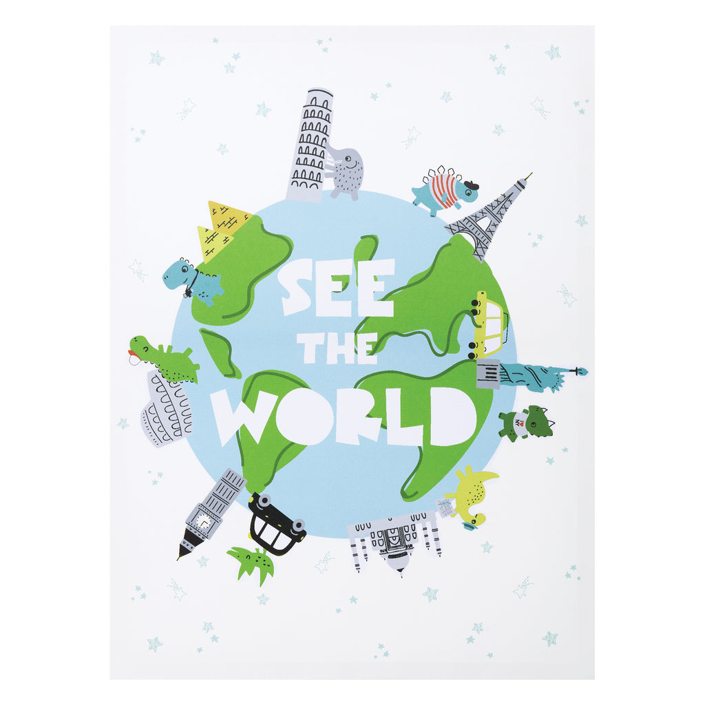 See the World Dinosaurs Canvas Wall Art Trend Lab