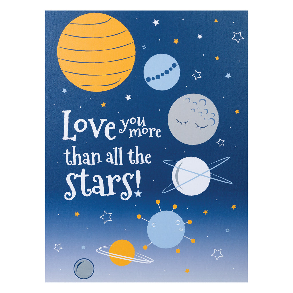 Galaxy Canvas Wall Art Trend Lab, LLC