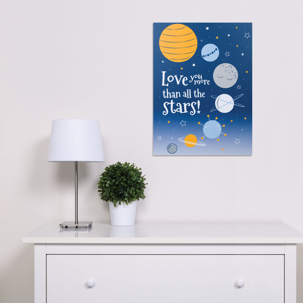 Galaxy Canvas Wall Art103418$19.99Trend Lab