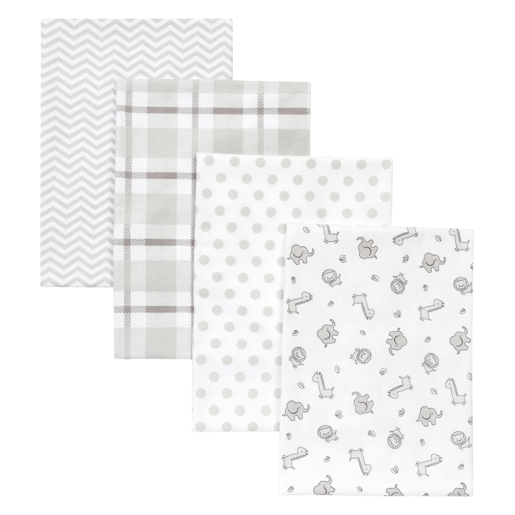 Safari Chevron 4 Pack Flannel Blankets103450$14.99Trend Lab