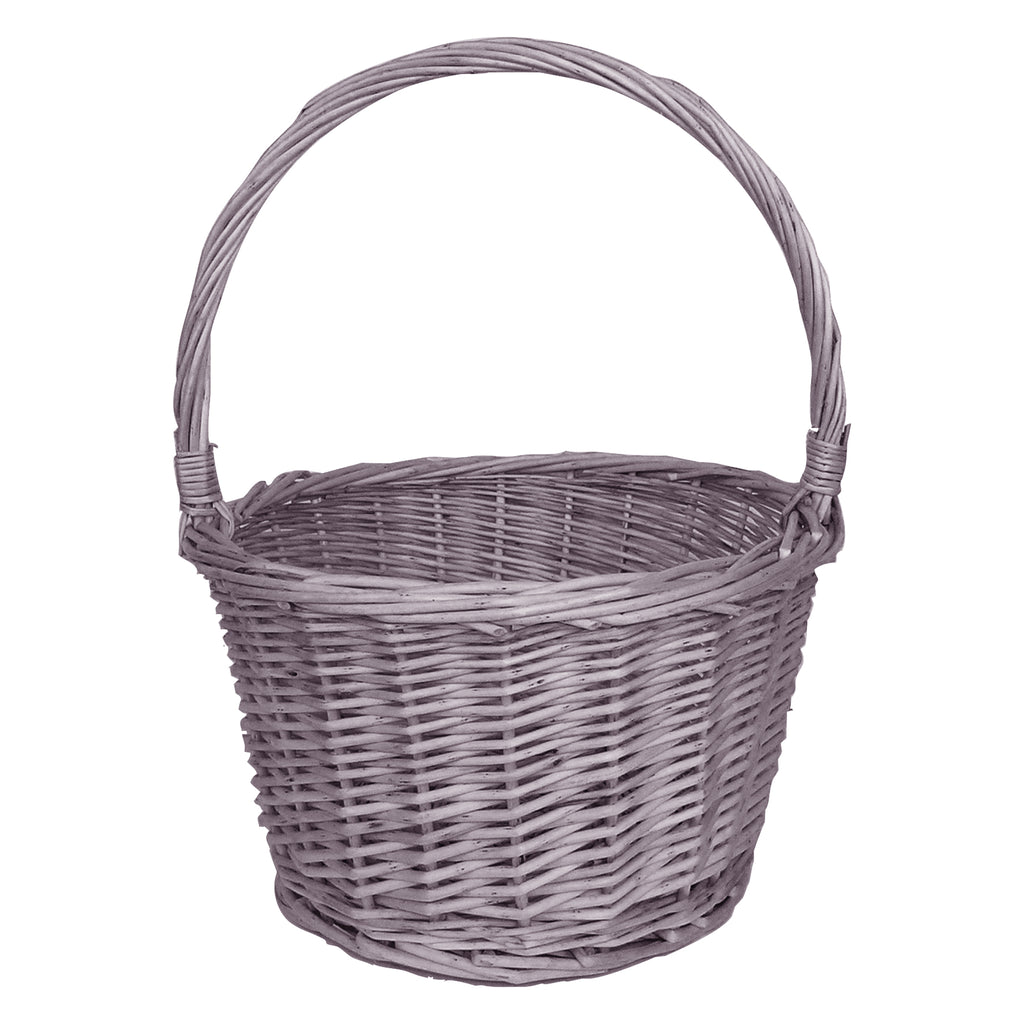 Gray Handle Basket Trend Lab, LLC