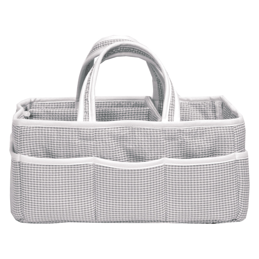 Gingham Seersucker Gray Storage Caddy103510$24.99Trend Lab