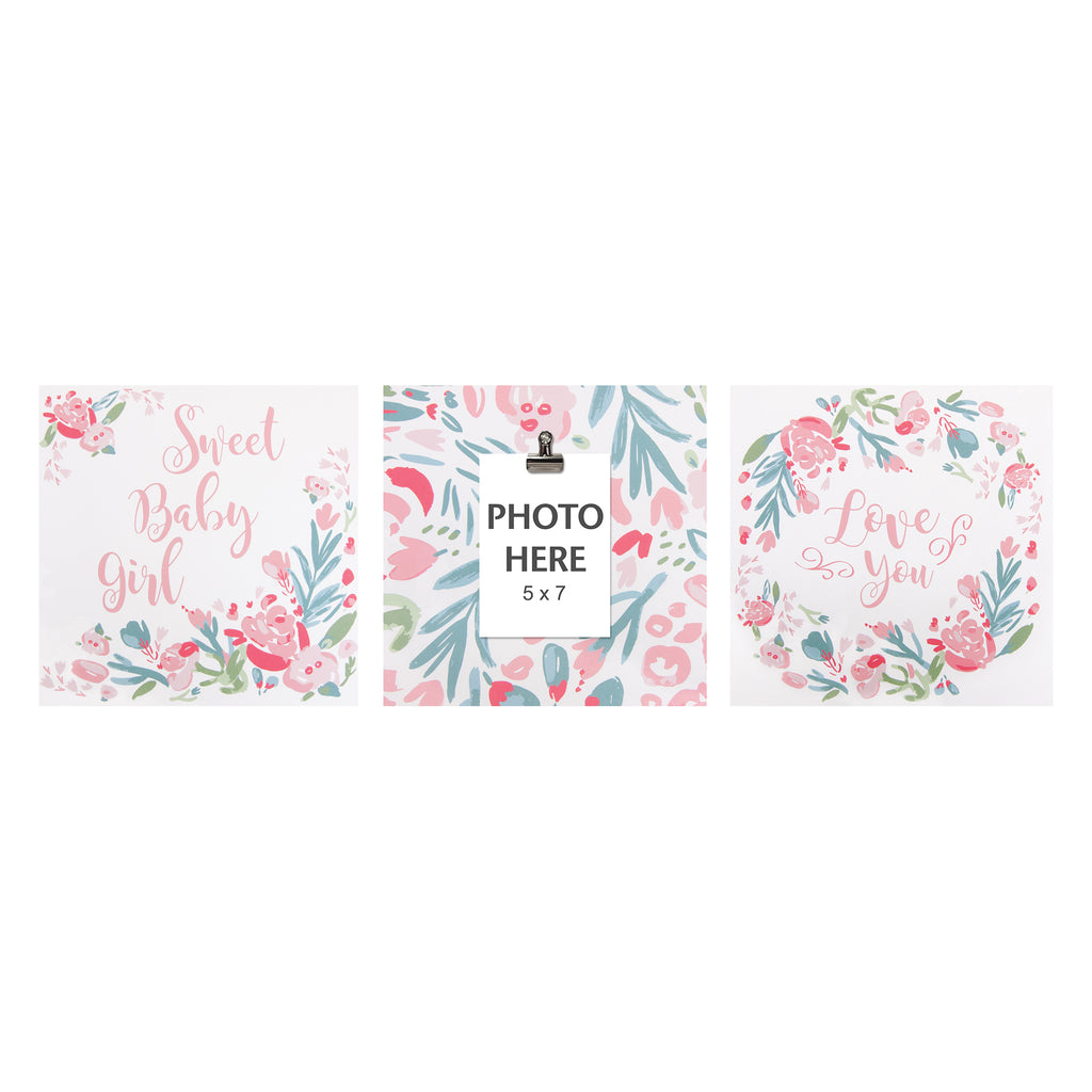 Painterly Floral Canvas Wall Art 3 Pack103550$21.99Trend Lab